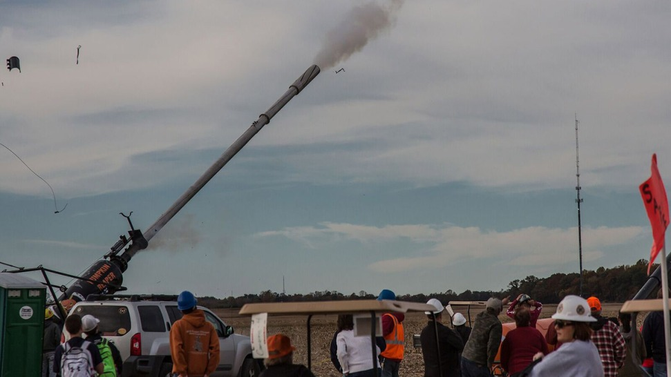 Man, Woman Injured in Explosion During Punkin Chunkin Contest in Delaware