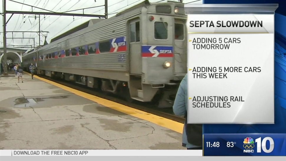 Septa Releases New Modified Schedule Adds More Rail Cars