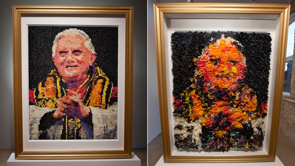 'Eggs Benedict:' Archbishop Criticizes Condom Portrait of Former Pope
