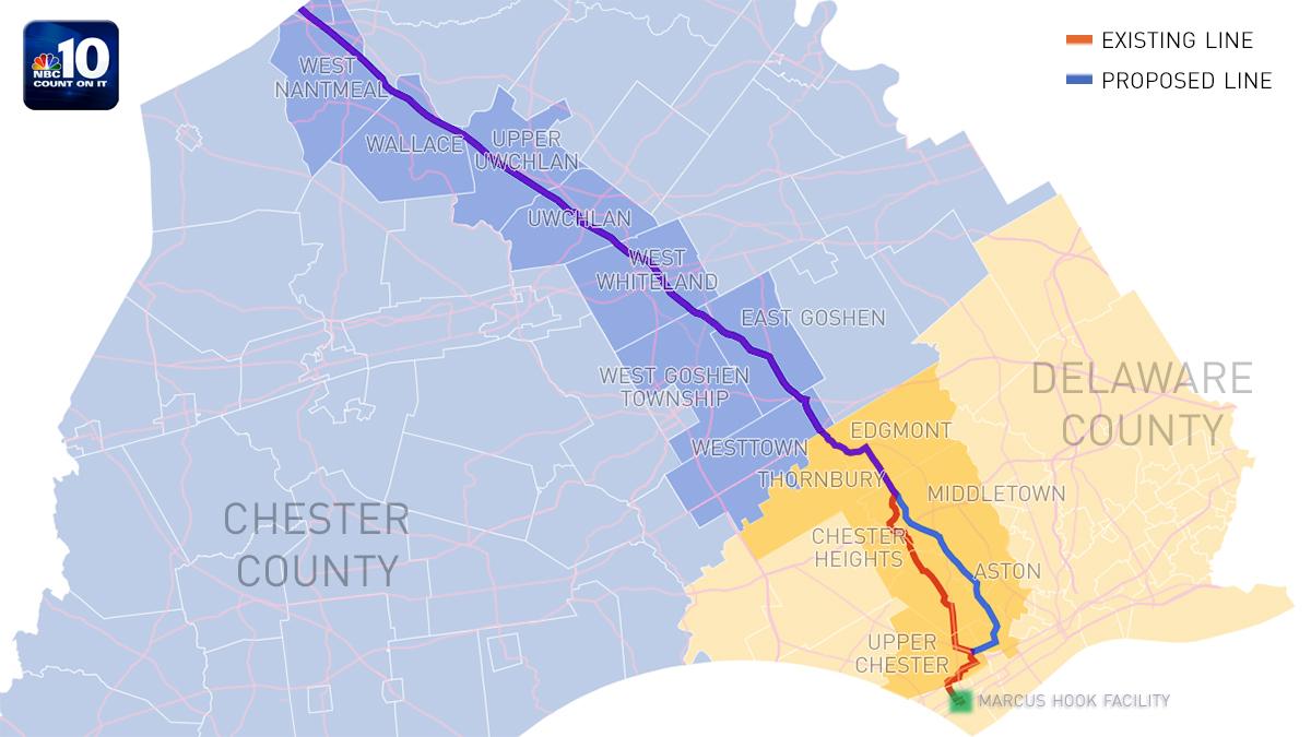 Natural Gas Pipeline Philadelphia