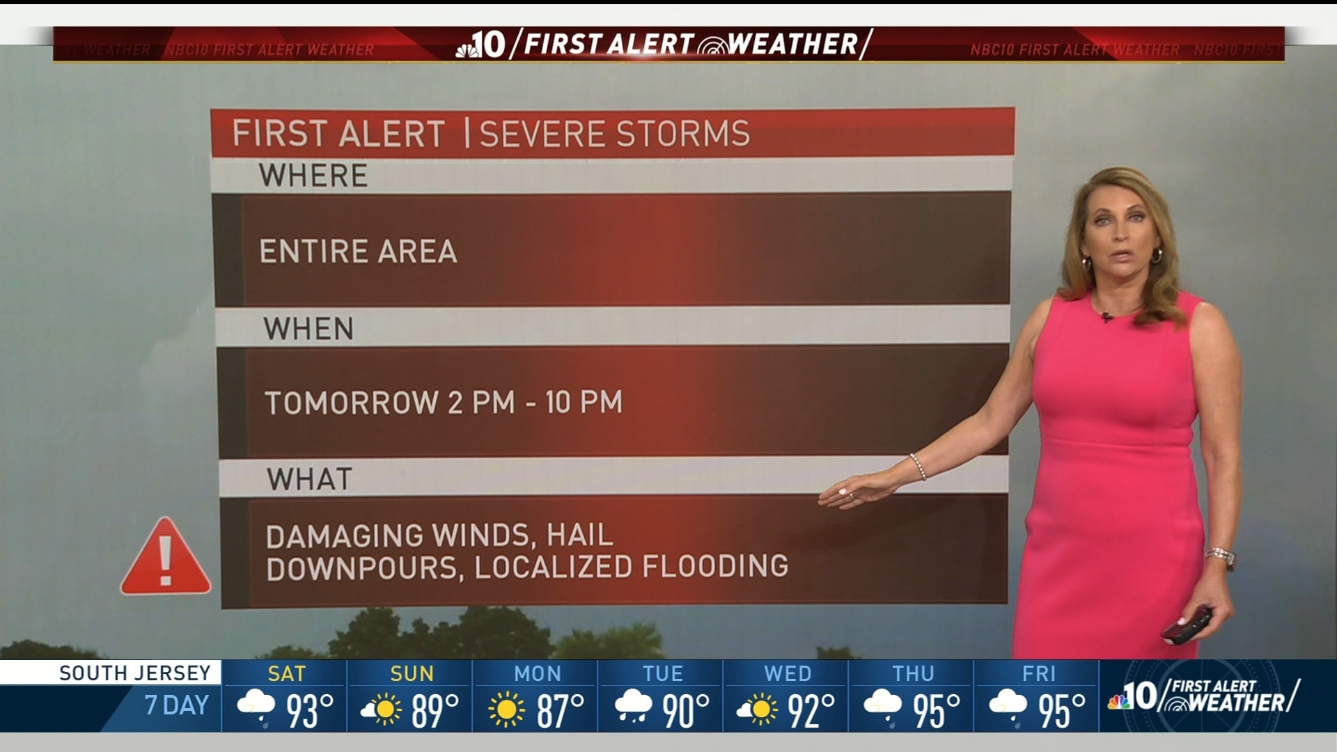 First Alert Weather: Damaging Storms on the Way