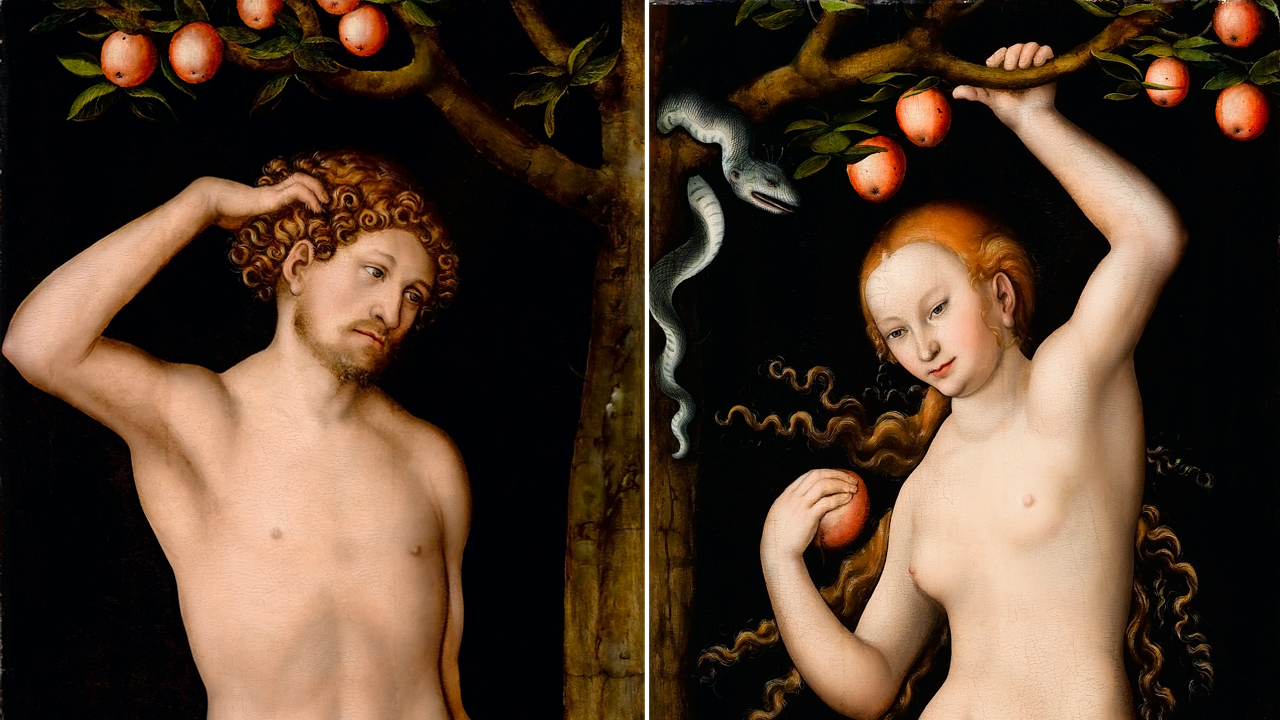Adam and Eve, c. 1530, by Lucas Cranach the Elder. The paintings were at the center of a 10-year legal battle over the ownership of the masterpieces that were seized by the Nazis in World War II. A judge ruled that Pasadena's Norton Simon Museum is the rightful owner.